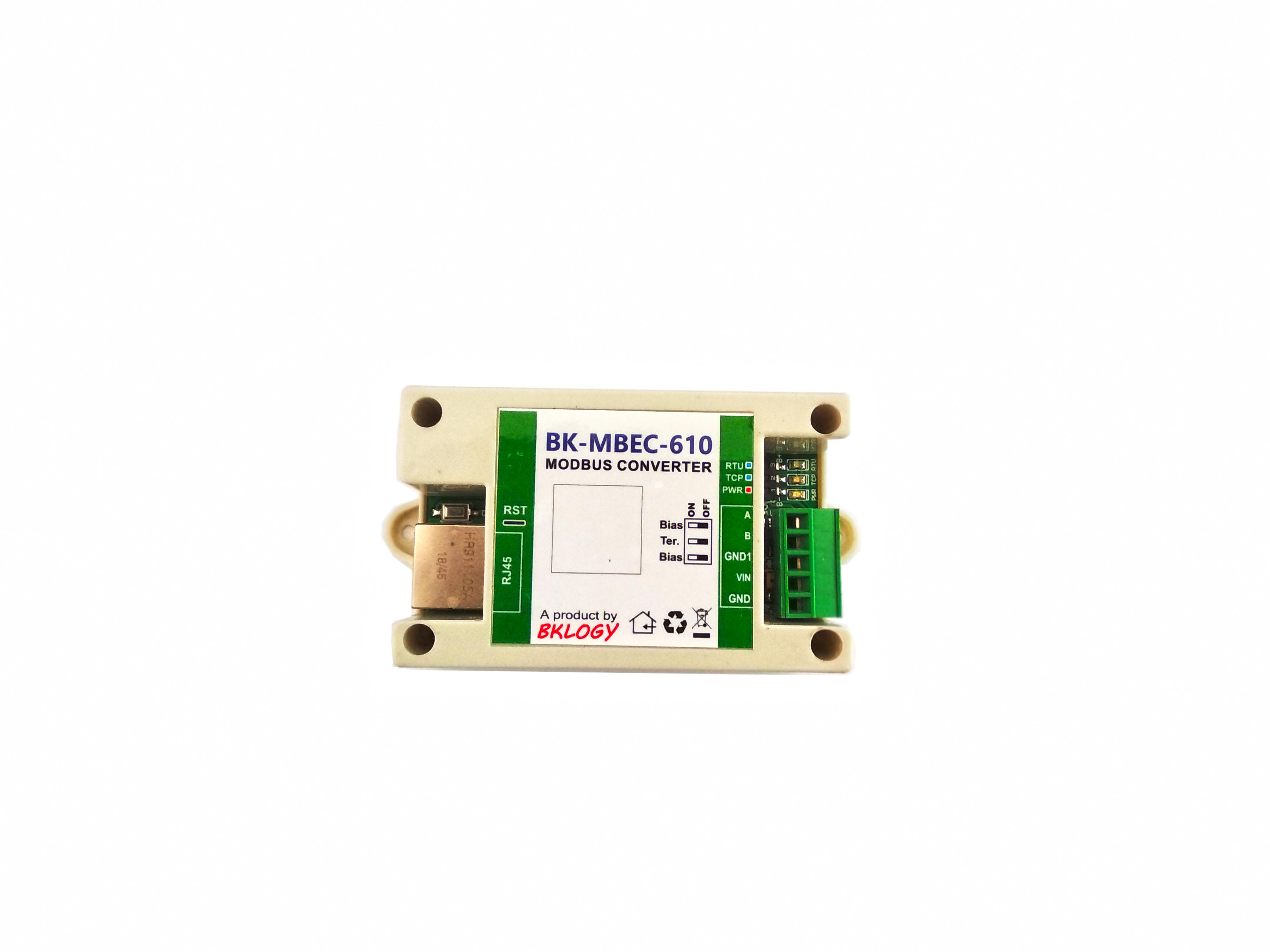 Tiny Modbus TCP Converter ( BK-MBEC-610)
